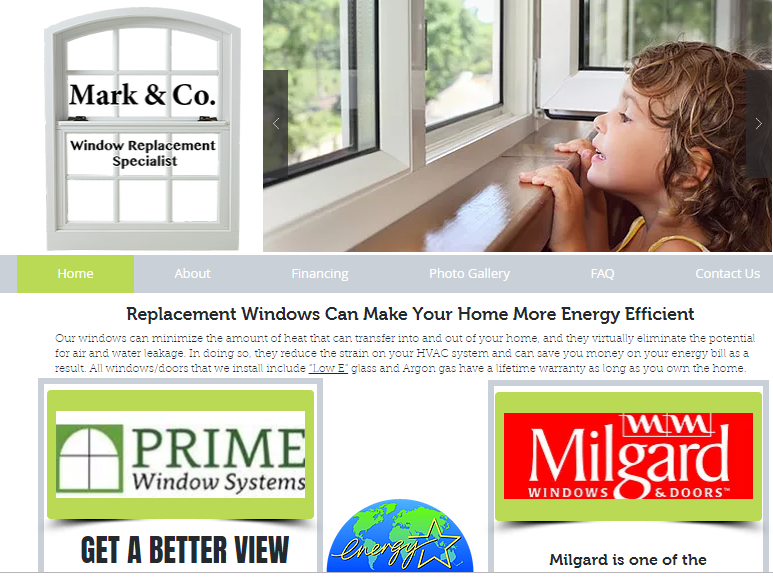 Mark & Company Windows