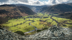 from Castle Crag