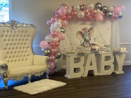 Baby shower package