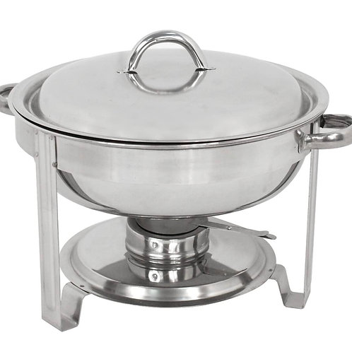 Round Stainless Steel Chafing Dishes