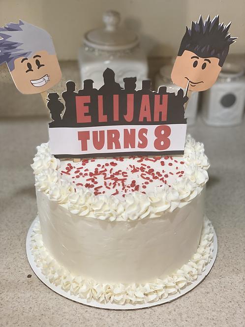 Roblox Cake