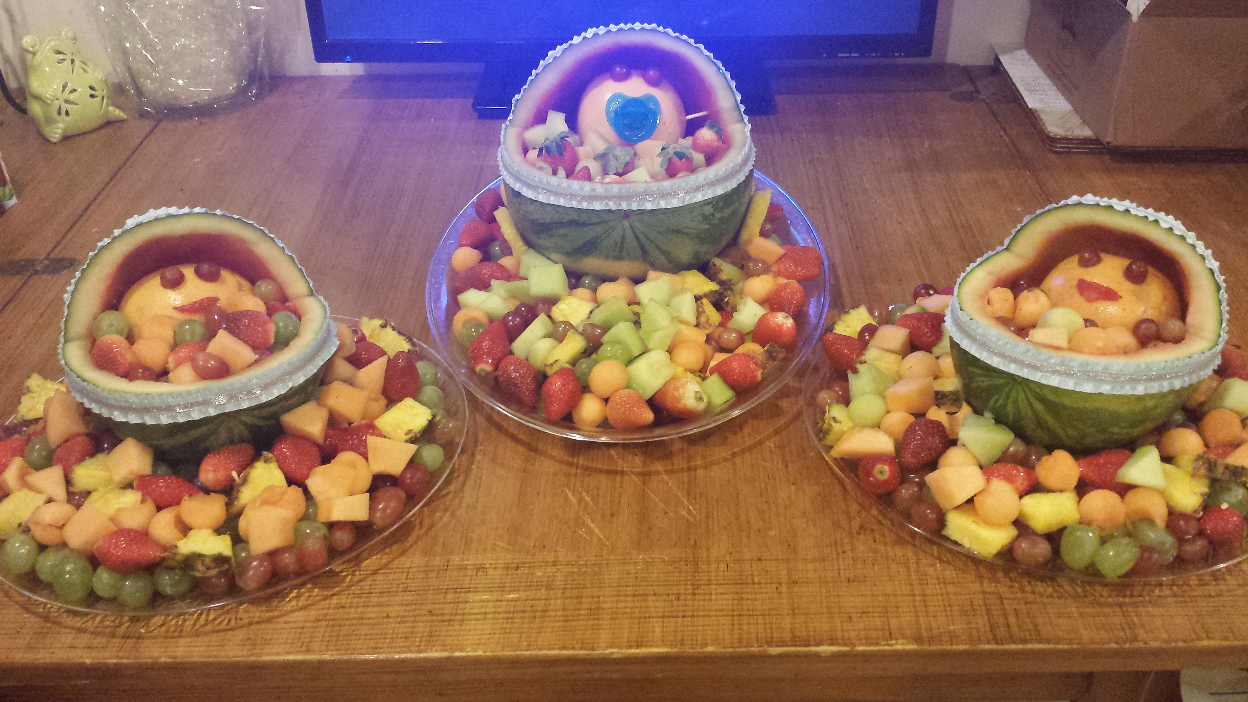 fruit platters for baby shower