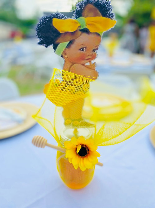 Sunflower baby shower package