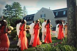 Sumptuous summer wedding