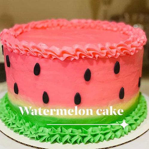 Watermelon Themed cake