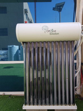 OffGrid 5-ton AC solution deployed at our Dubai office.