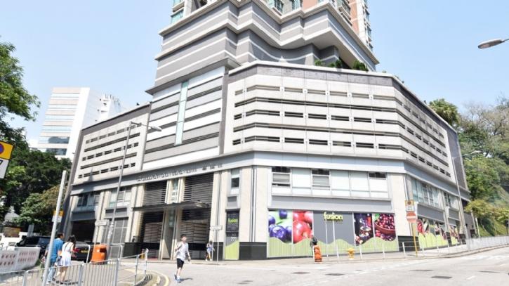 Ho Man Tin shopping center