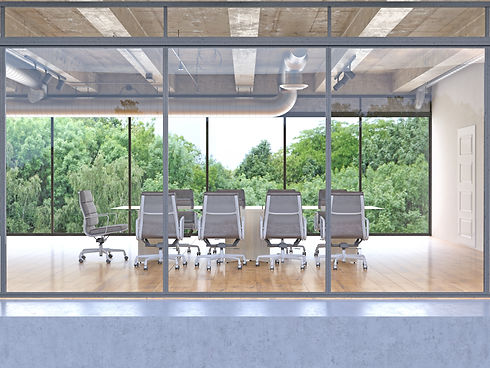 Smart Film Glass Conference Room