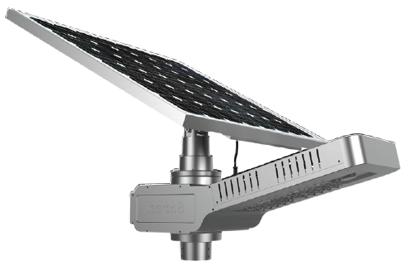 Solar Street Light - NightHawk All-In-One  15/20/30/40W