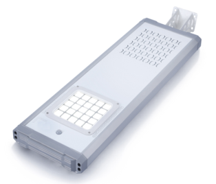 All-in-One 16W LED Solar Garden & Street Light
