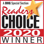 reader's choice awards winner 2020 badge