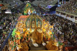 Rio Karnavalı Başlıyor / Rio Carnaval begins.