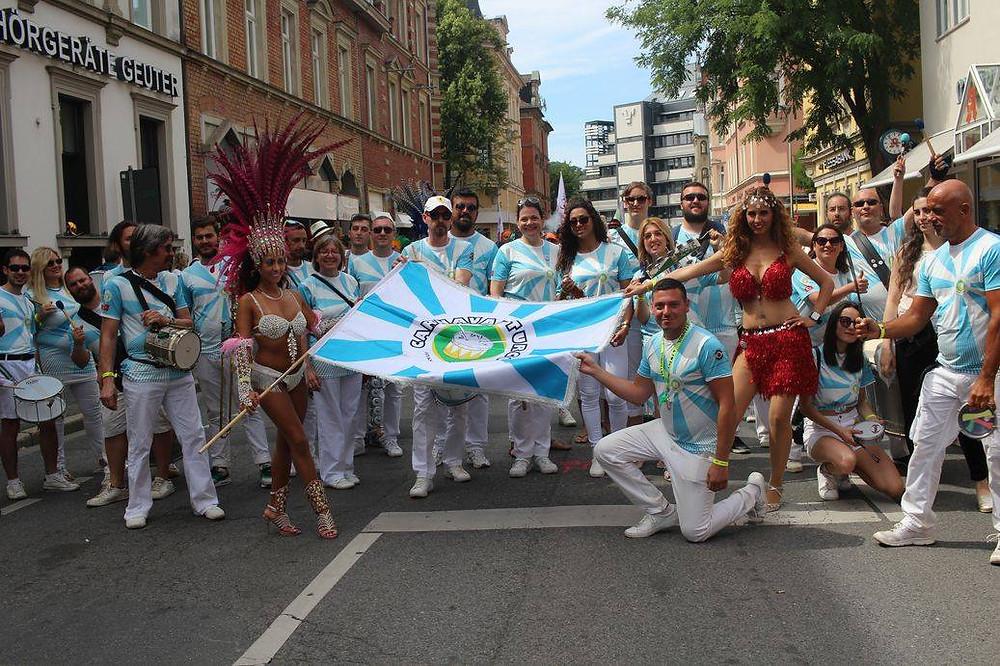 Carnaval Turco, Almanyada gene gönülleri fethetti.
