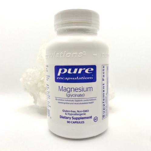 Pure Encapsulations - Magnesium Glycinate (90 caps)