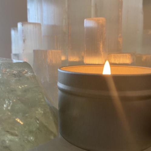 Bergamot + Lavender candle (4oz)