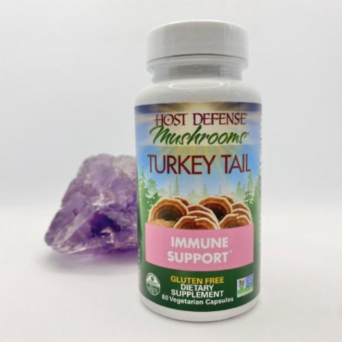 Host Defense Mushrooms: Turkey Tail Immune Support
