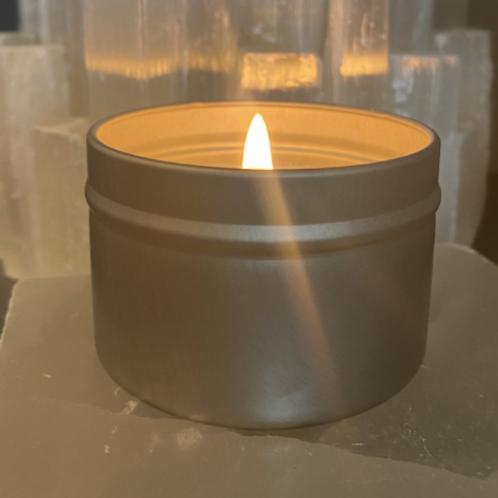 Peppermint + Eucalyptus + Frankincense candle (4oz)