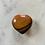 Thumbnail: Small Agate Heart (warm tones)