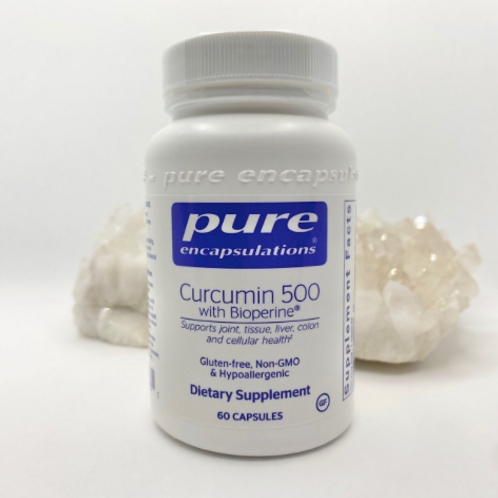 Pure Encapsulations - Curcumin 500 (with Bioperine)