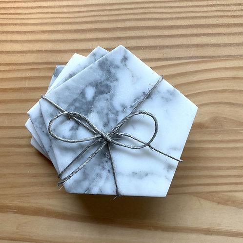 Marble Coasters (Pentagon)