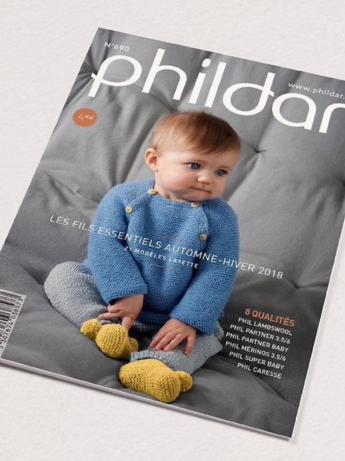 Phildar // Mini-catalogue No 690 - Layette