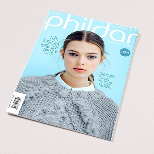 Phildar // Mini-catalogue No 655 - Adulte