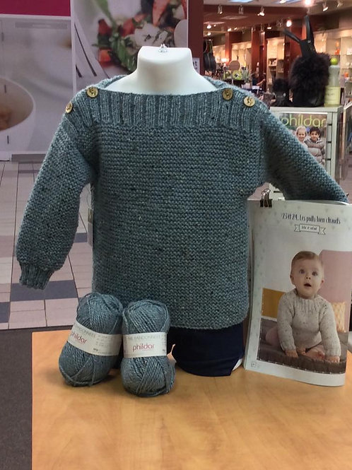 Modèle Phildar // Pull - Bébé 24 mois