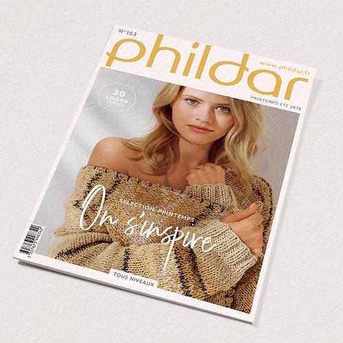 Phildar // Revue No 153 - Adulte