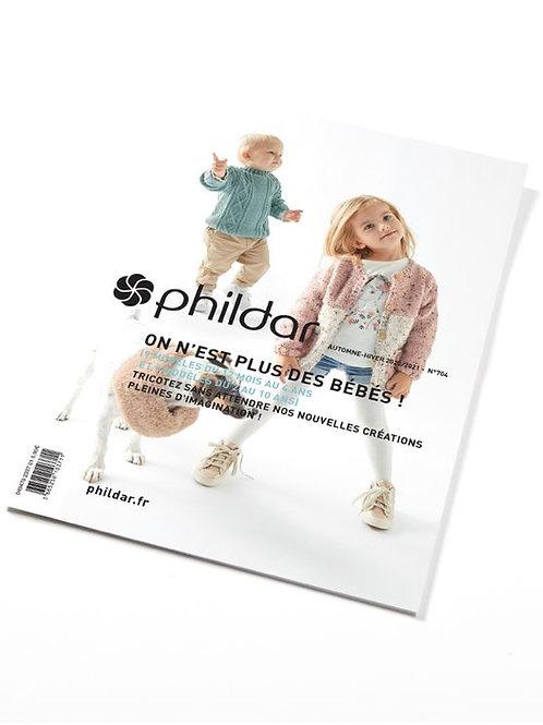Phildar // Revue n°704 - On n'est plus des bébés