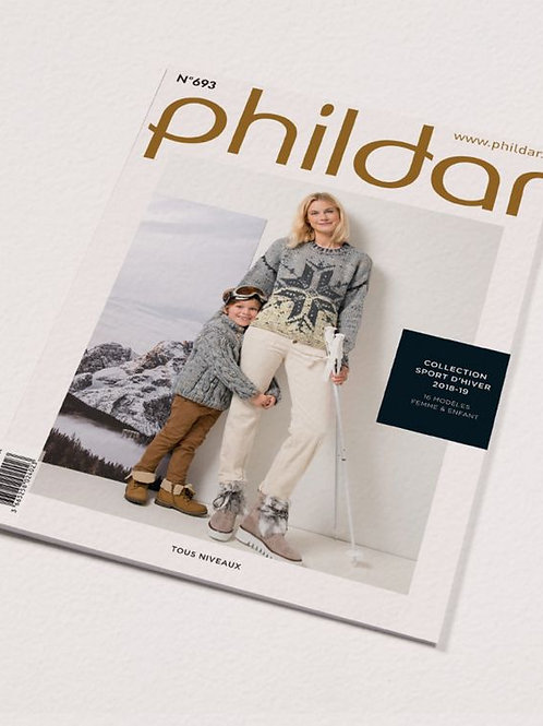 Phildar // Mini-catalogue No 693 - Famille
