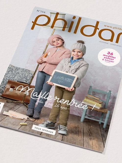 Phildar // Revue No 156 - Enfant