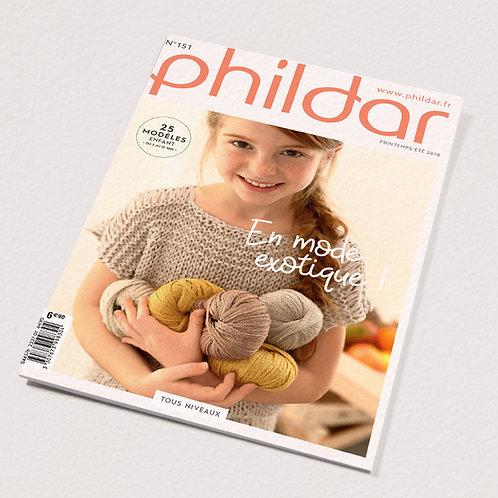 Phildar // Revue No 151 - Enfant