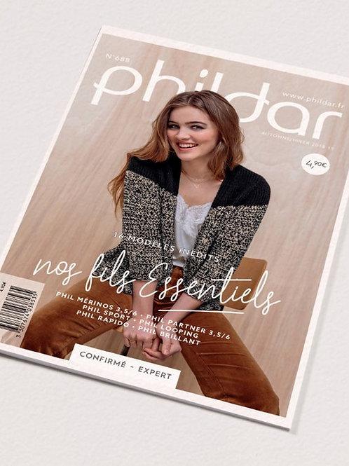 Phildar // Mini-catalogue No 688 - Adulte