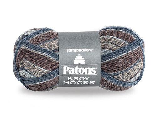 PATONS // Kroy Socks // Couleurs A à M