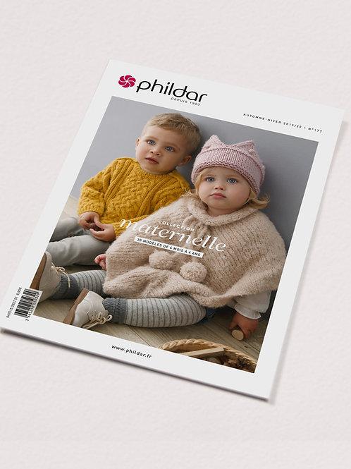 Phildar // Revue No 177 - 6 mois à 4 ans