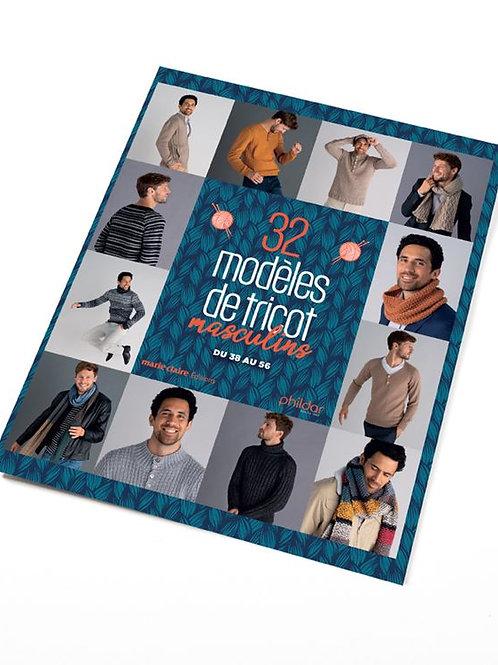 No 868 : 32 Modèles de tricot masculin