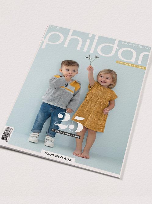 Phildar // Revue No 171 - 6 mois à 4 ans