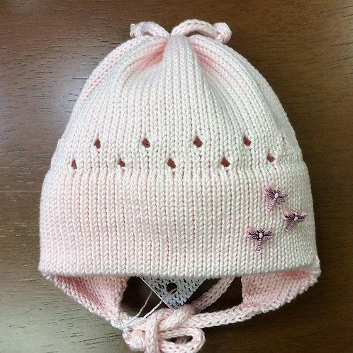 Modèle Petite Laine // Bonnet - 3 à 6 mois