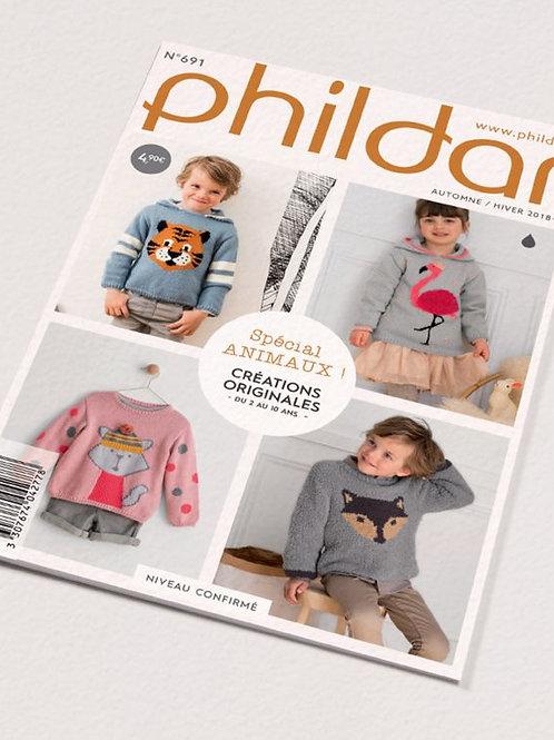 Phildar // Mini-catalogue No 691- Enfant