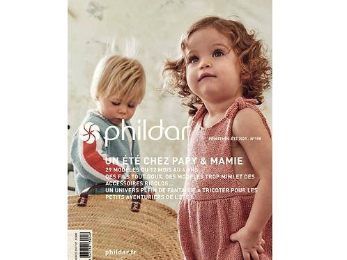 Phildar // No 198 - Un été chez Papy & Mamie
