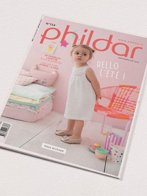 Phildar // Revue No 154 - Enfant
