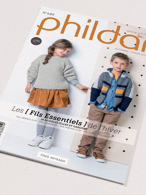 Phildar // Mini-catalogue No 689 - Enfant