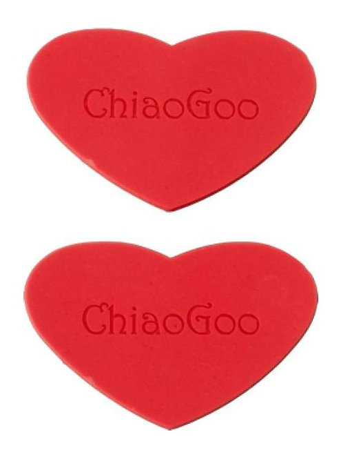ChiaoGoo // Coeurs antidérapants (Rubber grippers)
