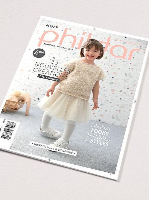 Phildar // Mini-catalogue No 679 - Enfant