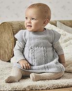 Modèle Robe Bébé Milène Phil Super Baby.