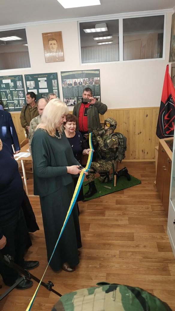 """Відкриття експозиції """"Криївка Слави"""""""