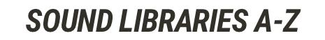Sound Libraris SilverPlatter
