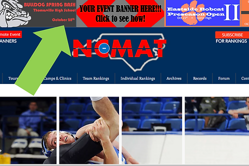Event Header and Page Banner Combo