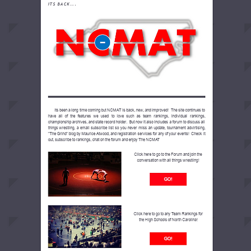 Email Event Promo