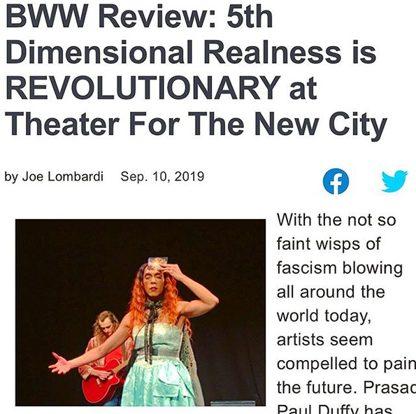 BroadwayWorld Review